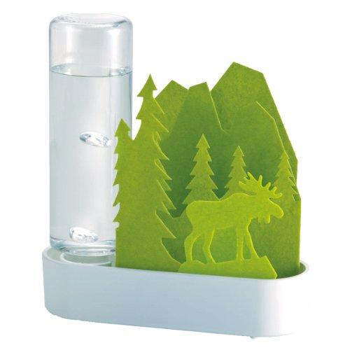 積水樹脂 自然気化式ECO加湿器 うるおいちいさな森 エルク‐グリーン