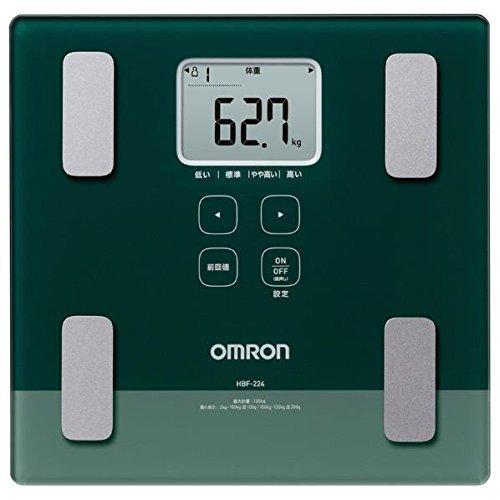 オムロン 体重体組成計 カラダスキャン HBF-224-G