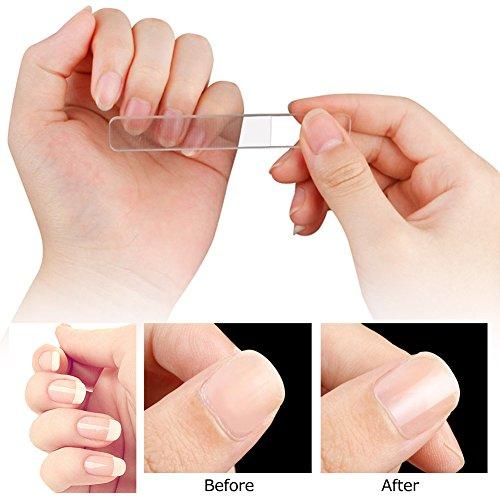 ガラス製 爪磨き