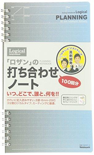 ナカバヤシ 打ち合わせノート A5スリムメモ帳