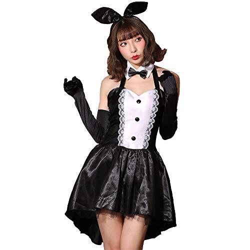 [ブライトララ] コスチューム バニーガール コスプレ衣装 ハロウィン ウサギ バニー 仮装 制服 うさ耳