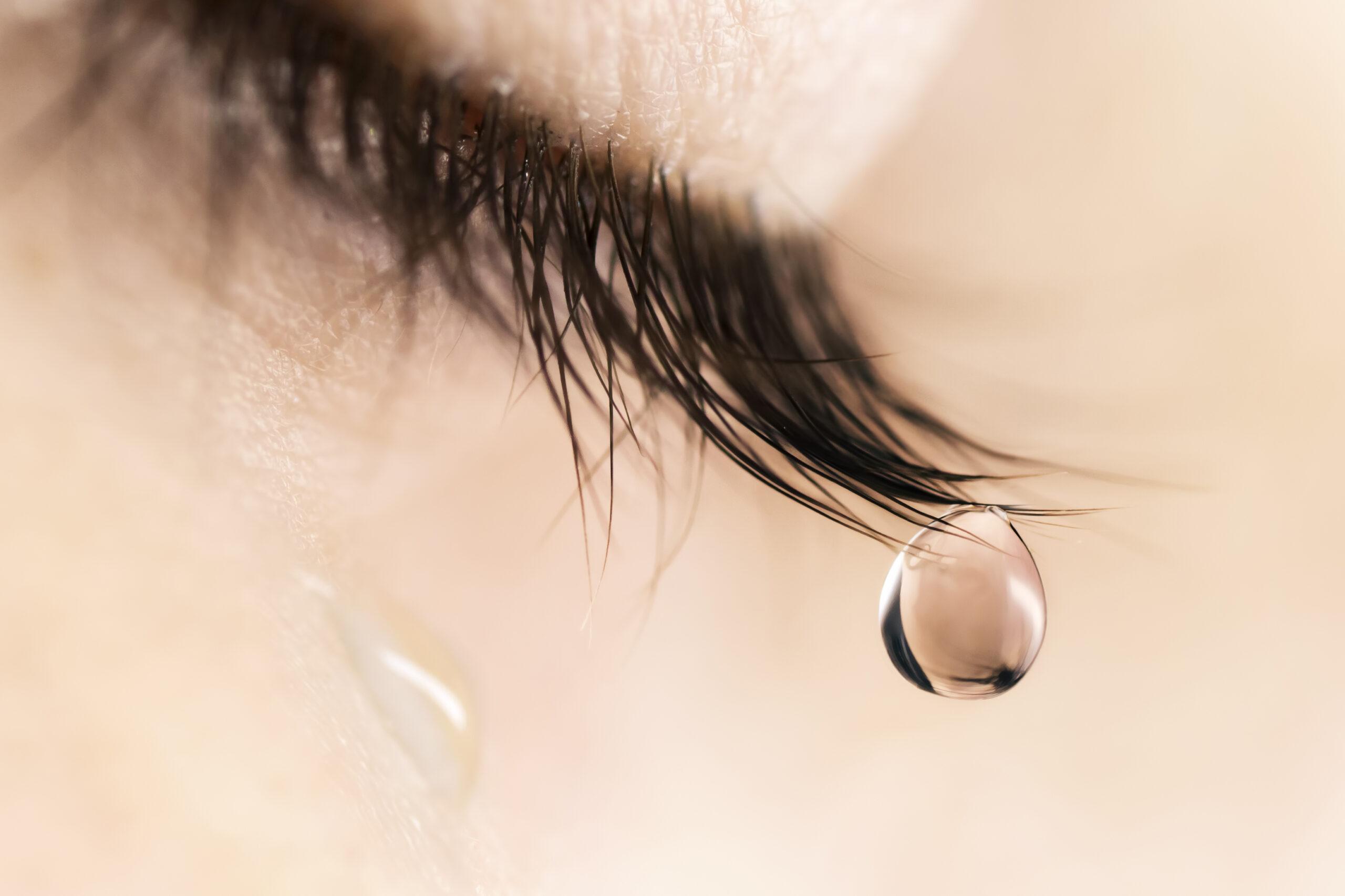 「泣くこと」の効果
