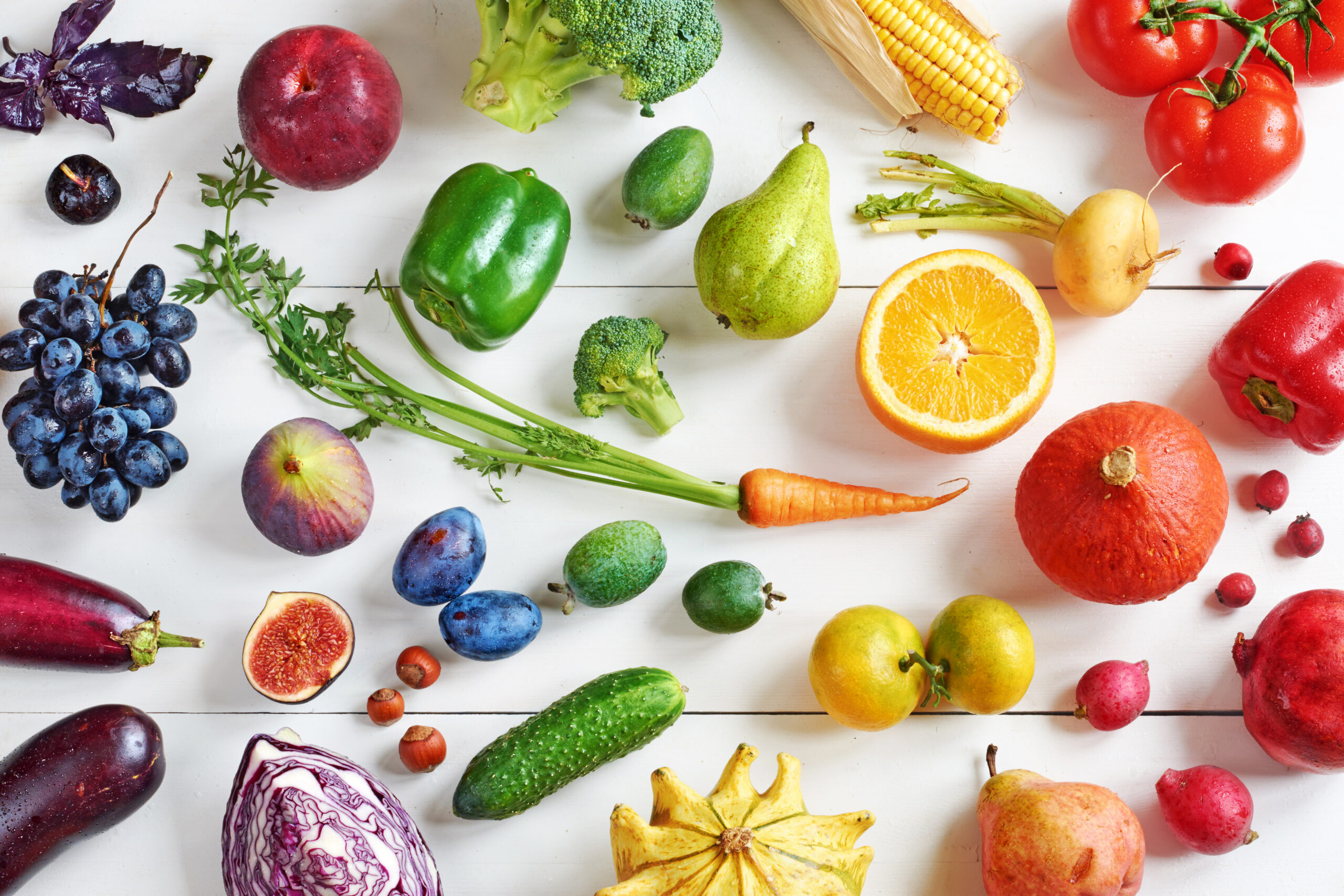 食べる食材の種類を増やそう!