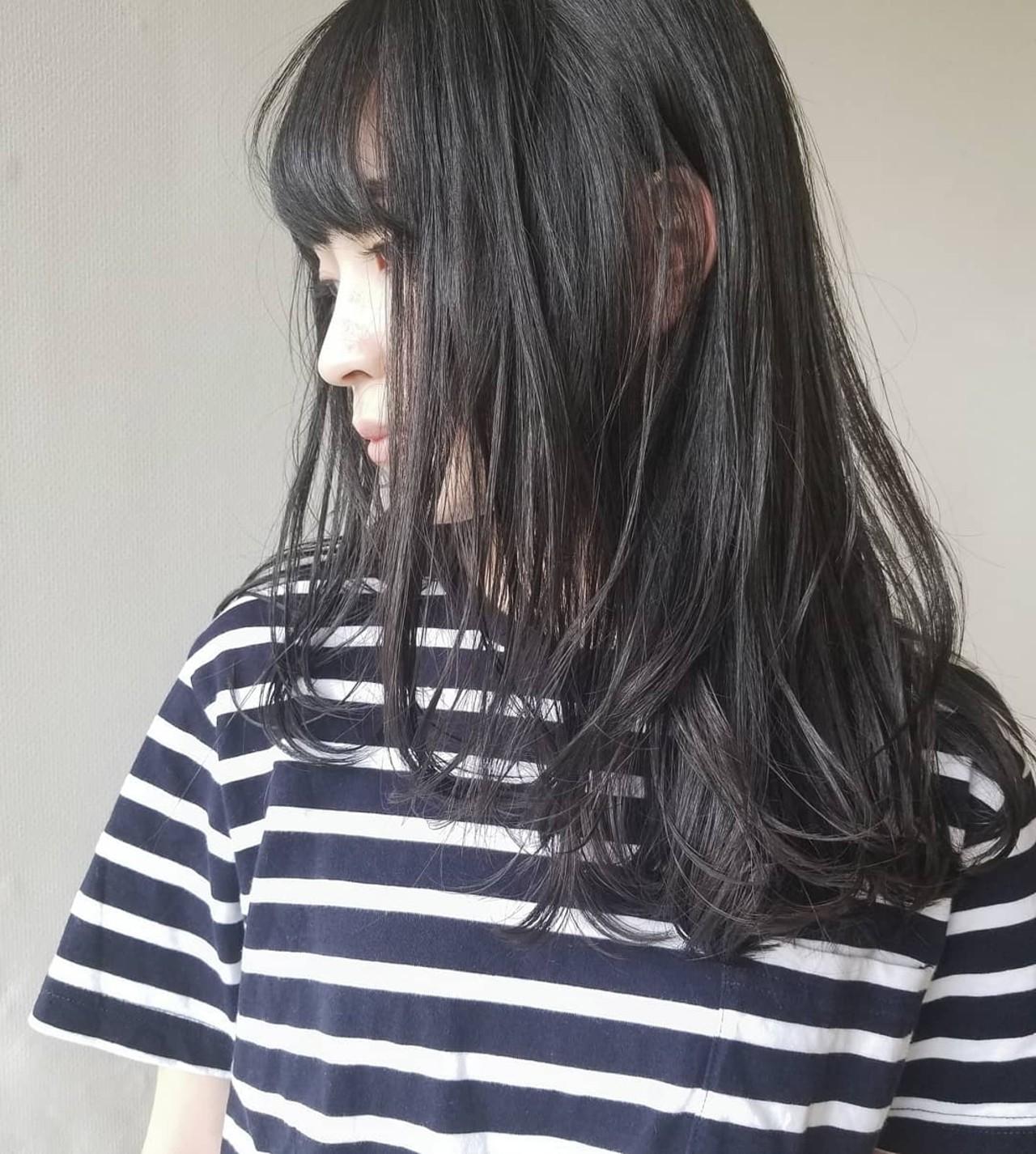 ブラック(黒)for ブラック系ヘア