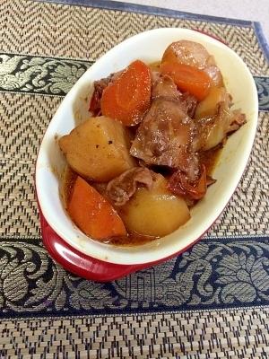 冷蔵庫のあまりもんdeごちゃ混ぜ煮 カチャトーラ風