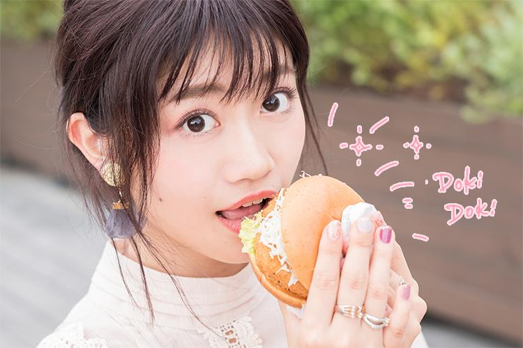 お次は、静岡代表の桜えびコロッケバーガー♪