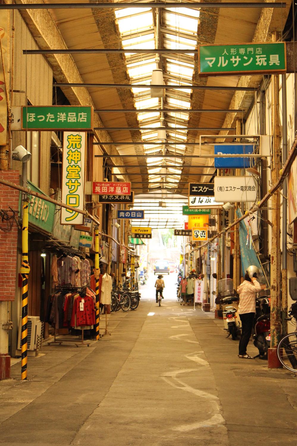 level2:商店街をふらり