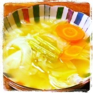 *簡単*あったかキャベツスープ