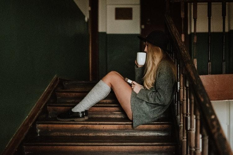階段って、すごく疲れちゃうから