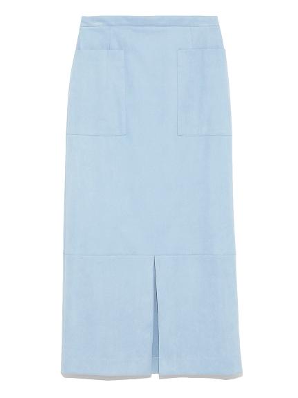 エコスウェードIラインスカート