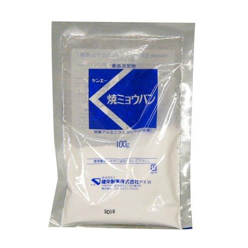 ケンエー 硫酸アルミニウムカリウム(乾燥)(焼ミョウバン)100g