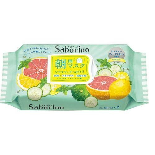 サボリーノ 目ざまシート 爽やか果実のすっきりタイプ 32枚入り