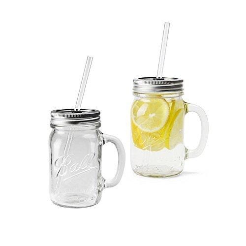 REDNEK HANDLED GLASS MUG 16oz 2Pcs