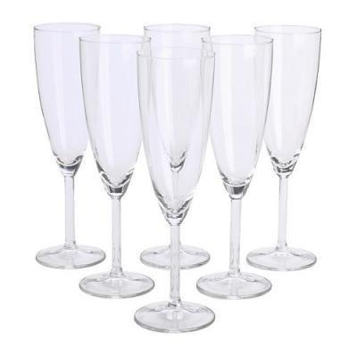 SVALKA シャンパングラス 6ピース