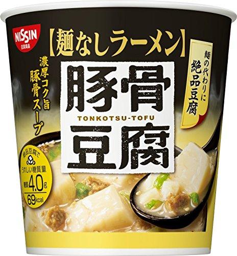 日清麺なしラーメン  豚骨豆腐スープ  24g×6個