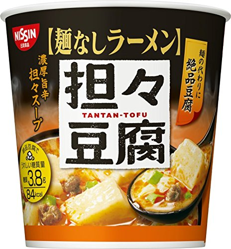 日清麺なしラーメン 担々豆腐スープ  27g×6個