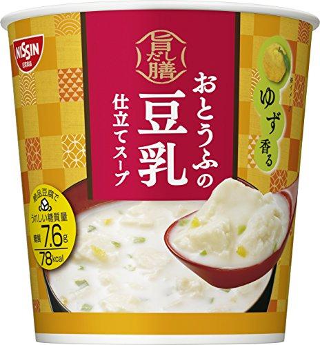 日清 旨だし膳 おとうふの豆乳仕立てスープ  17g×6個