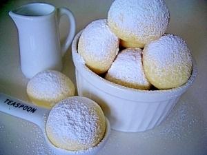 サクほろ~(*^_^*)スノーボールクッキー