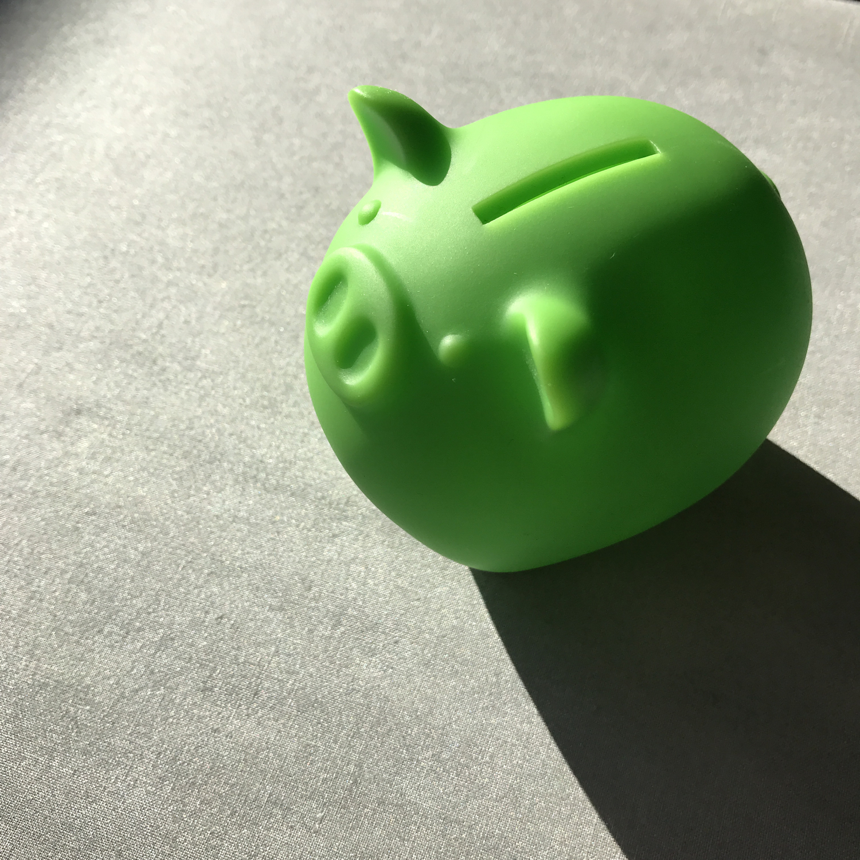 貯金術→小さくてもコツコツ貯金