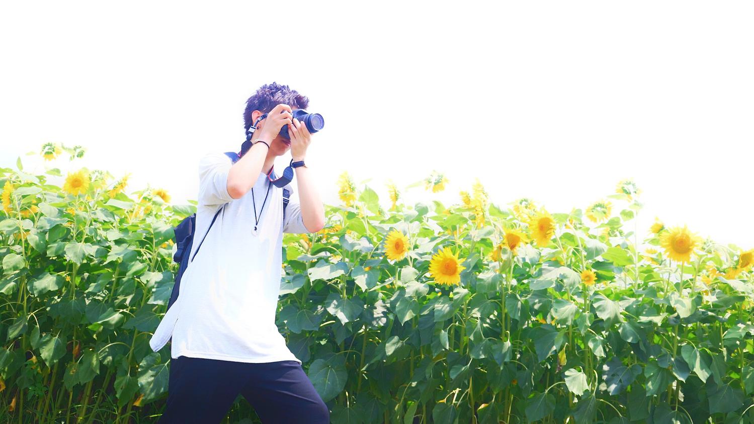 私の彼氏は、カメラ男子