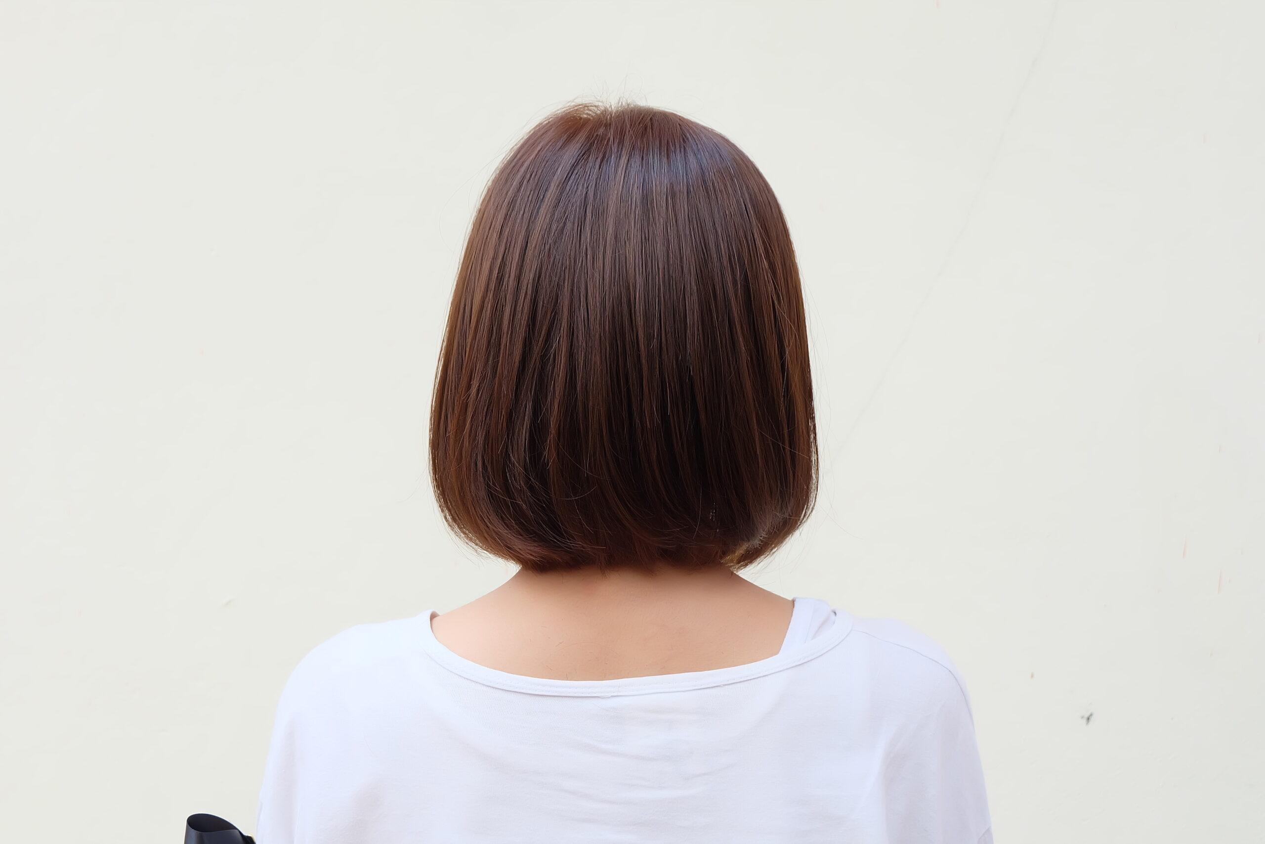 髪を切って、ちょっと後悔?