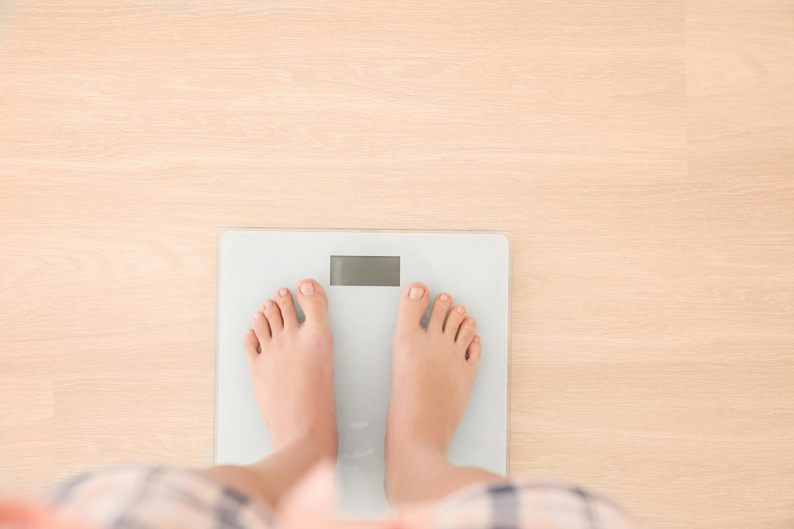 目安になる体重を知る