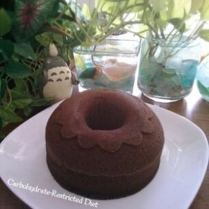 糖質制限★小麦粉不使用★ココアおからレンジケーキ♡