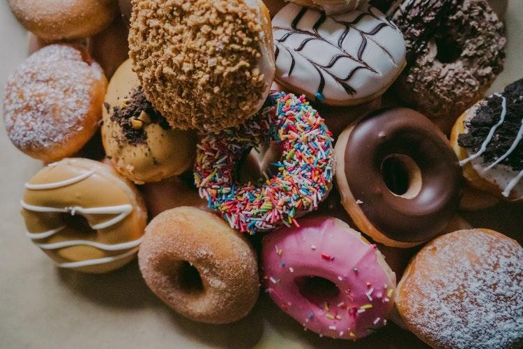 週に1回だけ、甘いものを食べる
