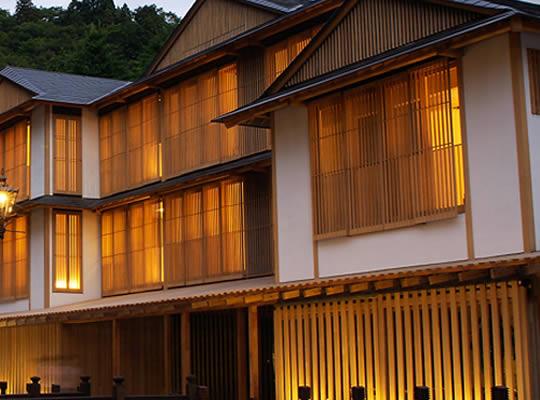 隈研吾:銀山温泉 旅館藤屋