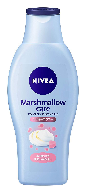 マシュマロケアボディミルク シルキーフラワーの香り