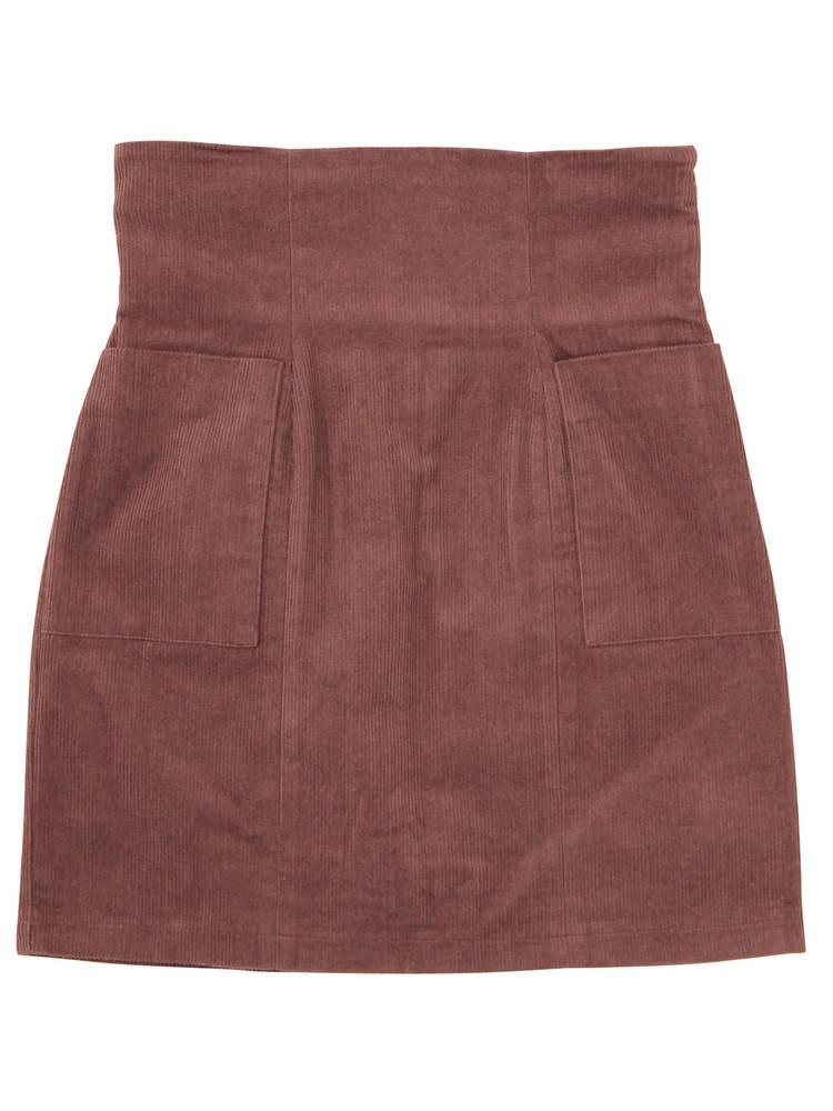 コルセットハイウエストスカート