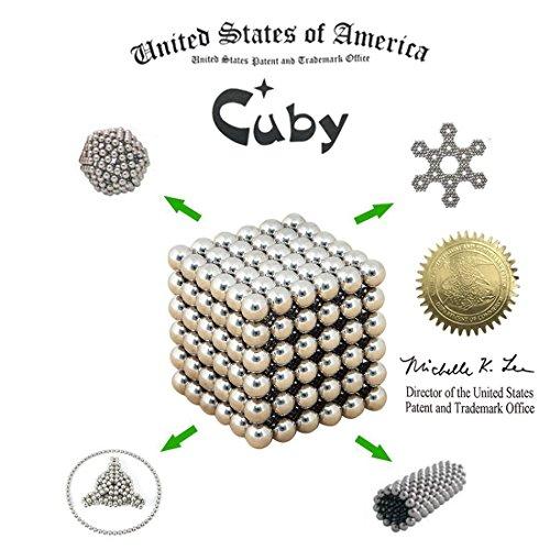 Cuby ネオジム磁石の立体パズル