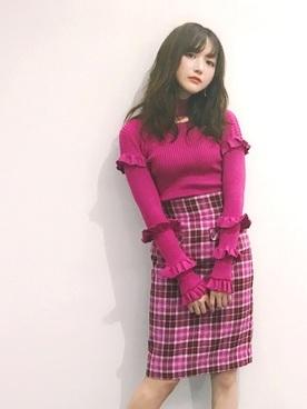 可愛すぎるくらいが◎ピンク×ピンク
