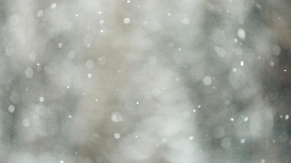 目元にも雪を降らせよう