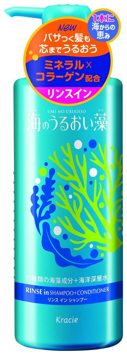 海のうるおい藻 うるおいケアリンスインシャンプー
