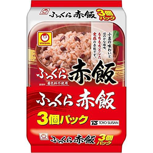 マルちゃん ふっくら赤飯 3P 480g