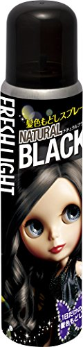 フレッシュライト 髪色もどしスプレー ナチュラルブラック