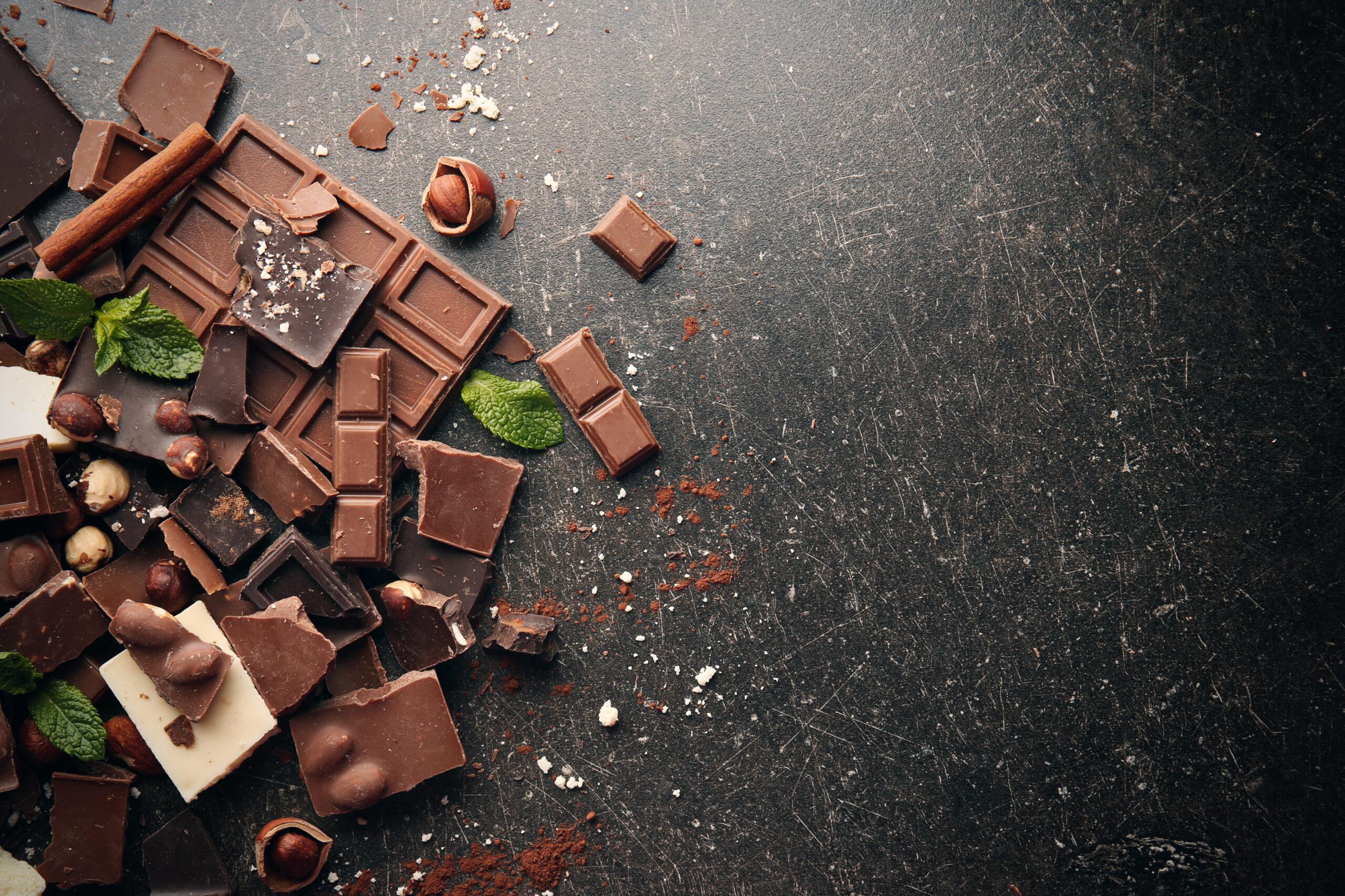 ナッツとチョコレートを味方に