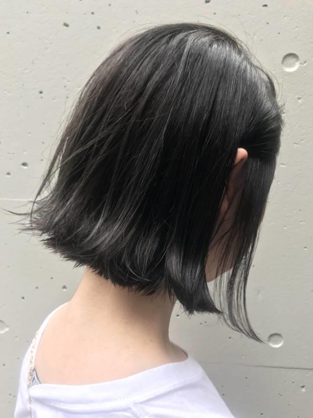 ダメージ部門:黒髪