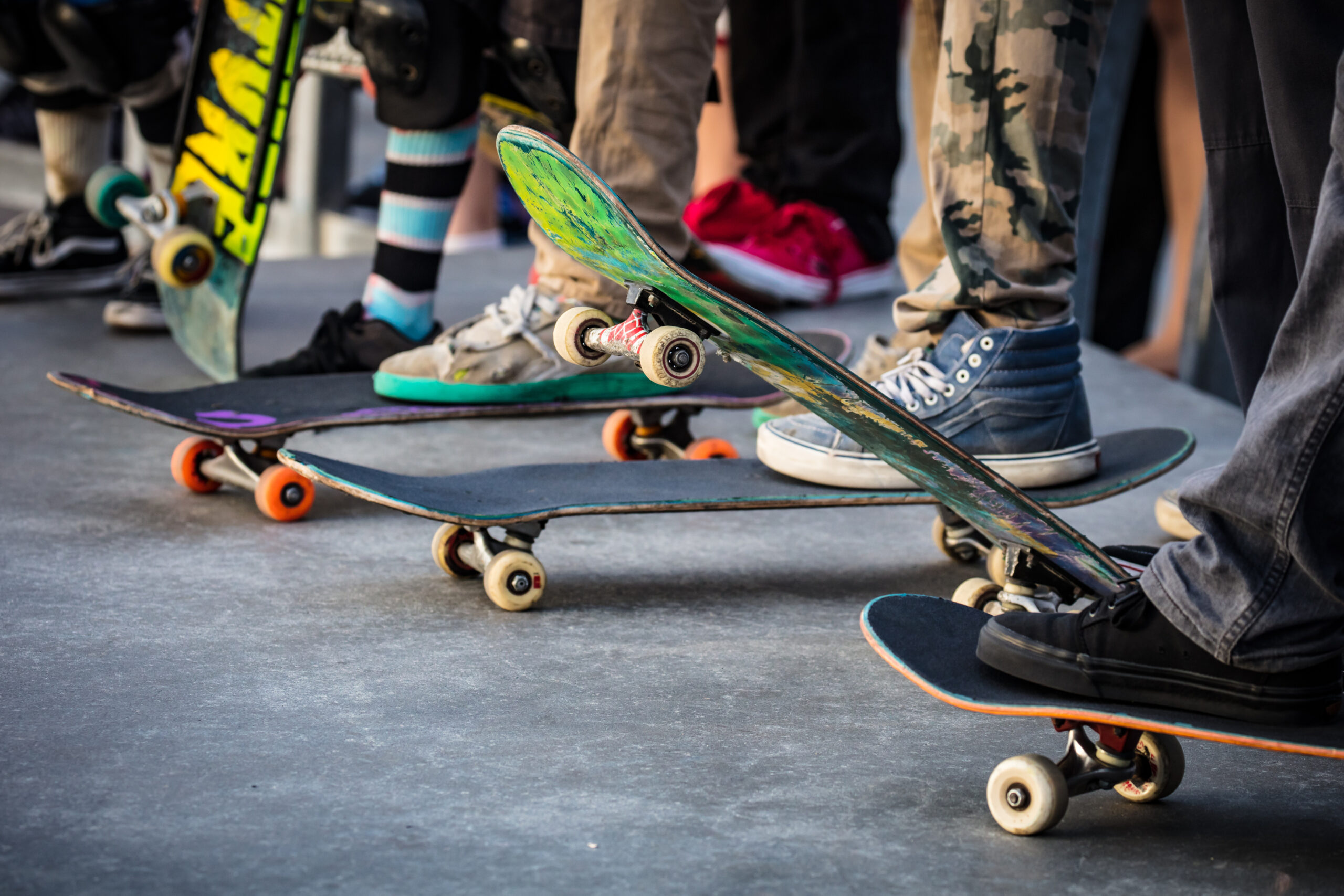 ショートスケートボード