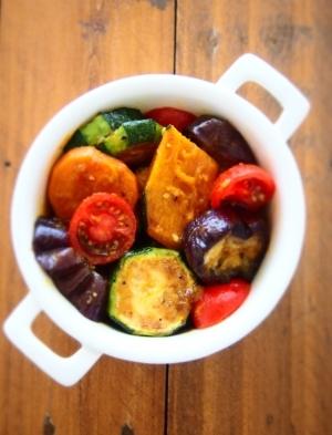 冷温どちらも美味しい 焼き野菜のサラダ