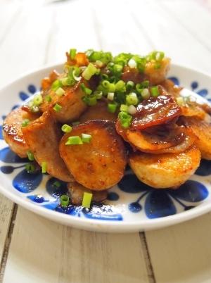 お弁当にも♪ 里芋と豚肉の照りうま焼き