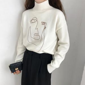 モダンデザインセーター