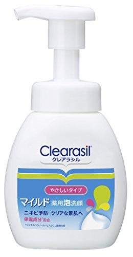 ニキビ対策 薬用 泡洗顔フォーム 肌にやさしいマイルドタイプ
