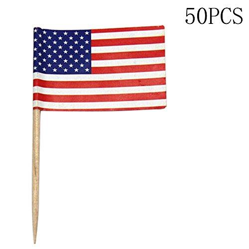 アメリカ国旗 爪楊枝 50本