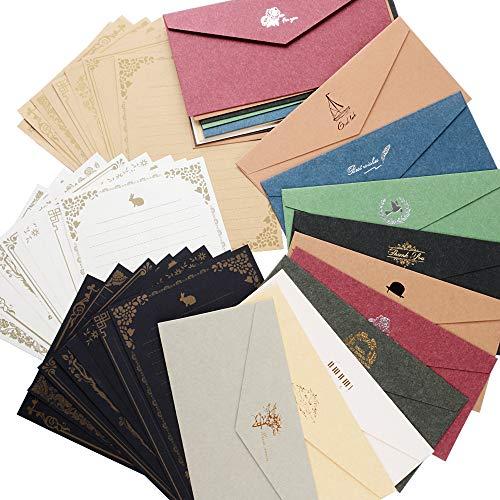 レターセット 封筒 20枚 便箋 24枚