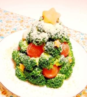 作るの楽しい!☆クリスマスツリーサラダ☆