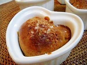 トースターで10分♪ココアとバナナのカップケーキ