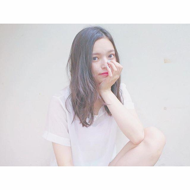 ①眉ティント