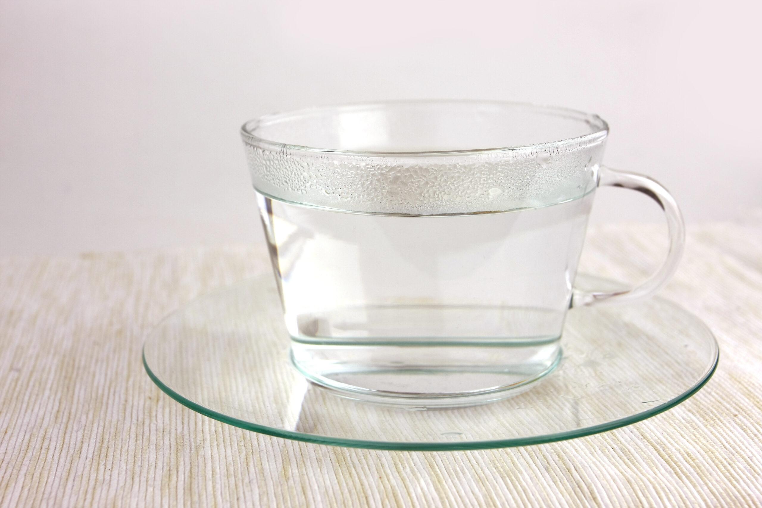 STEP1 白湯でリセット
